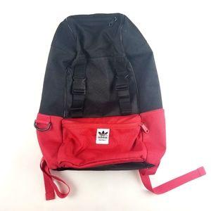 Adidas OG Red Black 2 Compartment Backpack